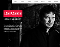 Ian Rankin - Website Pitch Concepts