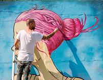 Porto : Rua de Lionesa, Artist Mário Belém