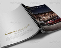 82 Pages Luxury Magazine Template