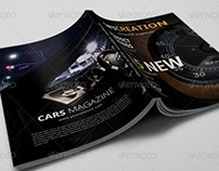 Professional Cars Magazine Template II