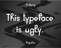 Typeface Forküng