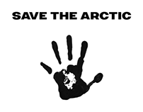"""SAVE THE ARCTIC"" - Greenpeace campaign"