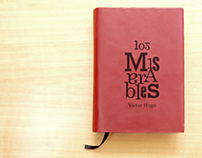 """LOS MISERABLES"" book edition"