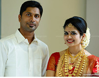 Jayasankar + Aarathy Wedding