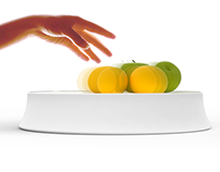 Fruitz: A bowl that reminds you to consume fruit 2009