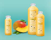 Packaging for GoodFood juice