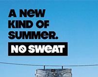 Lee No Sweat campaign