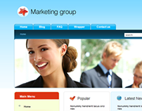 Marketing Group - Marketing Agency Joomla Template