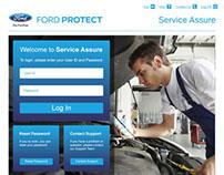 Warranty Website Design and Build