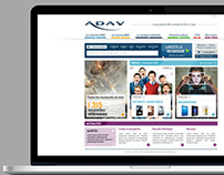 ADAV Association - Web Design