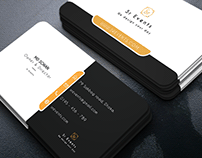 Sr Events Business card