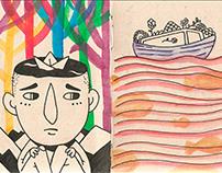 Bocetario (Sketchbook) 2019