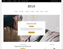 Rylo - WordPress Blog Theme