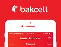 Bakcell Roaming App