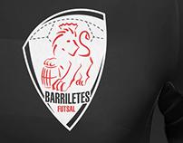 Football team badge design for Barriletes futsal