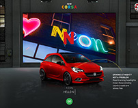Vauxhall New Corsa Launch Microsite