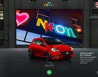 Vauxhall New Corsa Launch Microsite