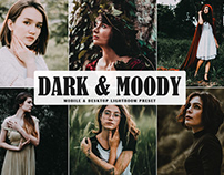 Free Dark & Moody Mobile & Desktop Lightroom Preset