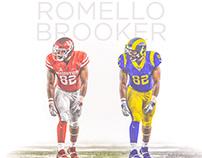 Romello Brooker Jersey Swap: by Brett Gemas