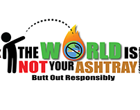 The World is Not your Ashtray Campaign