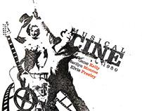 Cine Musical de 1950 - Diseño de Afiche y díptico.