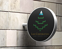 Life Corp. Identity Design