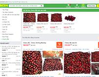 Giá Cherry Mỹ trên MuaBanNhanh