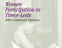 Timor Suco Elections – Women Participation Publication