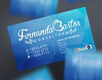 Cartões de Visita | Fernanda Bastos
