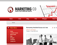 Marketing Consulting Services Joomla Template