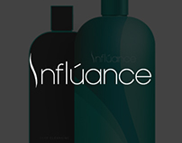 Influance Hair Care Brand Identity Proposal