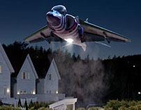 Skandiabanken - Flytte Lasse