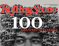 EDITORIAL DESIGN - Rolling Stone Cover