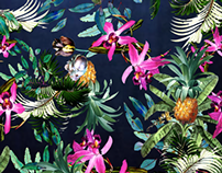 Dark Tropics Print project
