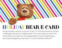 Bloomingdale's Holiday Bear E-Card