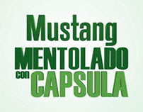 Mustang Mentolado con Capsula