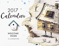 """Welcome home"" Calendar"