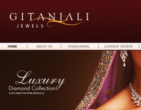 Gitanjali Jewels Website