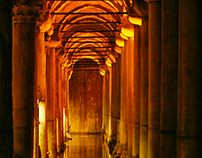 Istanbul - Basilica Cistern - by Marino Sallowicz®