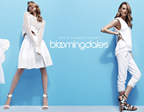 Bloomingdale's Spring News Stand