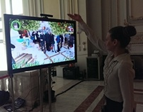 AstraZeneca Kinect interactive game