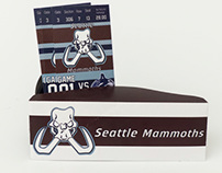 Branding Project: Seattle Mammoths