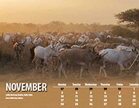 United Nations Mission in South Sudan Calendar