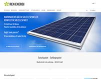 Ren Energi E-Commerce