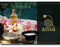 Ansa Spa Menu Design