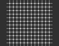Flashing Dots Print (Optical Illusion)