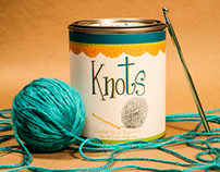 Crochet Kit Paint Can