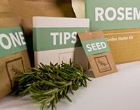 Modern Garden | Indoor Herb Garden Kit