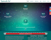 Eyetooth-Art website design