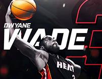 Dwayne Wade Social Media Graphic